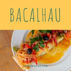 soguima reymar codfish bacalhau Codfish, Mexican, Photo And Video, Ethnic Recipes, Instagram, Food, Cod, Middle, Meal