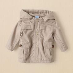 newborn - boys - twill jacket | Children's Clothing | Kids Clothes | The Children's Place