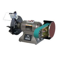 Multitool Variable Speed 1 hp Industrial Belt Grinder Bundle