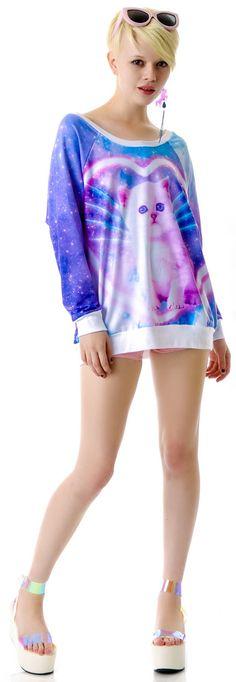 Kawaii as fuck sweater; I want it. c: