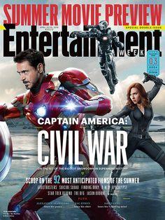 We have your inside scoop on #CaptainAmericaCivilWar, Marvel's most EPIC superhero battle yet. Photo Credit: Marvel