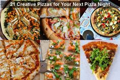 Feastie Friday: 21 Creative Pizzas for Your Next Pizza Night