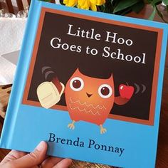 Does anybody have my Little Hoo Goes to School book? If you do, can you review on Amazon? This book has NO reviews yet. Weird, right? If you don't have a copy, please rush out and buy one! Or come over and read my copy. ❤ #sajbooks #littlehoo #littlehoogoestoschool