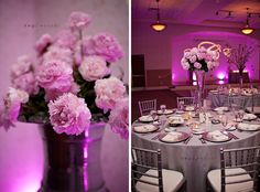 Love this dreamy reception #centerpiece captured by Kristen Weaver Photography