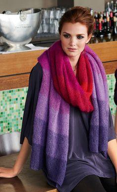 Lana Grossa DEGRADÉE-STOLA Silkhair - FILATI Accessoires No. 14 - Modell 15 | FILATI.cc WebShop