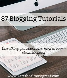 These are the best blogging tutorials – and NONE of them are blog post ideas. Just 87 tutorials that will help your blogging in other ways!