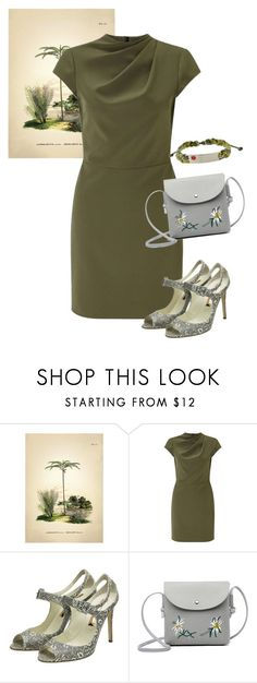 """""""dress"""" by masayuki4499 ❤ liked on Polyvore featuring The Dybdahl Co., Miss Selfridge and Rupert Sanderson"""