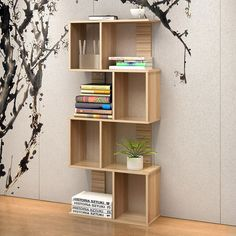 Urbane 8 Shelving Deluxe Bookshelf Display Shelf Bookcase