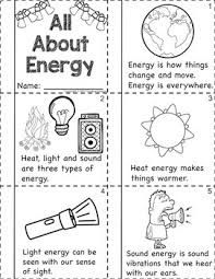 Teach child how to read: 1st Grade Science Energy Worksheets