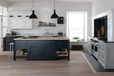 Blue and grey kitchen ideas dark gray kitchen cabinets image of dark grey kitchen cabinets paint . Dark Grey Kitchen Cabinets, Grey Kitchens, Bespoke Kitchens, Kitchen Units, Home Kitchens, Kitchen Grey, Fitted Kitchens, Island Kitchen, Base Cabinets