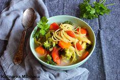 Kulinarna Maniusia - blog kulinarny: Zupa jarzynowa z makaronem