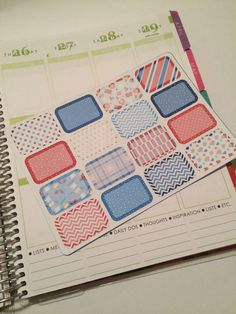 I See London Halfbox Stickers for your Erin Condren Life Planner, Plum Paper Planner, Filofax, and more!