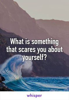 What is something that scares you about yourself? Truth Or Dare Questions, Fun Questions To Ask, Deep Questions, This Or That Questions, Random Questions, Facebook Engagement Posts, Social Media Engagement, Interactive Facebook Posts, Fb Games