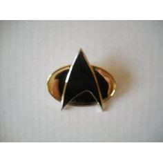 Star Trek the Next Generation Metal Communicator Pin $14.95