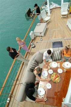 Relaxed lunch on-board Yonder Star, a luxuriously appointed sailing yacht based in the Abel Tasman New Zealand Holidays, Abel Tasman, Luxury Tents, Sailing, Journey, Lunch, Activities, Star, Travel