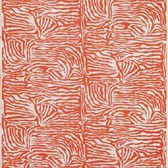 """Brunschwig & Fils """"Ashanti in Orange"""""""