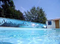 Nerone, Le Coktail, Décoration, Peinture, piscine, Bateau, Bordeaux