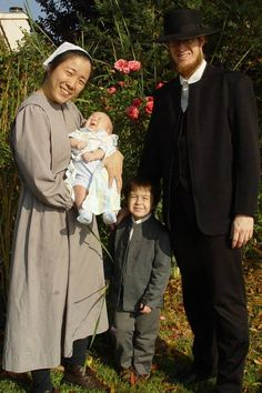 Interesting story of Dan and Satomi Berry. They are Mennonites.  http://www.berry.20m.com/history.htm