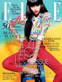 Ninja Singh – Elle India July 2012
