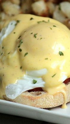 Eggs Benedict-I love creating a twist on this classic recipe by taking ...