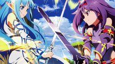 Yuki Asuna & Yuki Konno from Sword Art Online [2560x1440] - Checkout more news on www.plexushub.co.uk