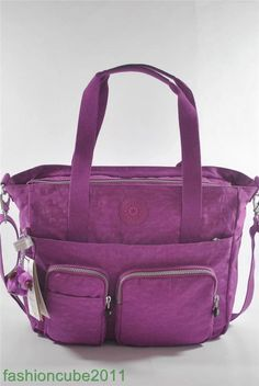 NWT KIPLING SADY TOTE SHOULDER CROSSBODY BAG - Grape Juice