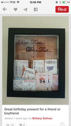 Great moving away gift DIY Pinterest Gift Craft and Crafty