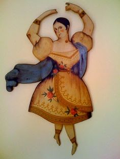 Joyce Howard folk artist.  Her daughter has a blog http://jhowardfolkart.blogspot.com - wonderful tribute to a great American folk artist!