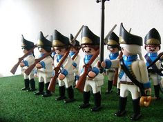Austrian Grenadiers step up to the firing line