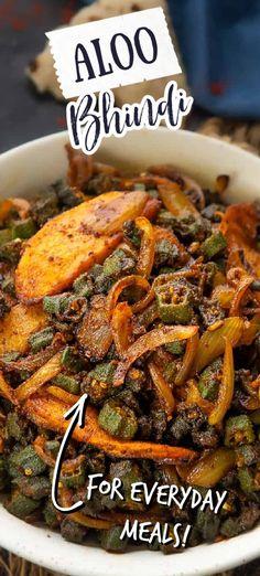 Veg Recipes, Indian Food Recipes, Asian Recipes, Whole Food Recipes, Ethnic Recipes, Cake Recipes, Bhindi Fry, Good Food, Yummy Food