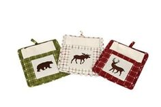 Pot Holder and Towel Set - 3 Styles