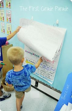 Hang up anchor charts using a hook and ring system so you can keep several in one place at the same time  students can remove and use as needed