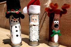 Shotgun Shells Ornaments lol my hubby would like thoes!
