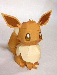 eevee paper craft