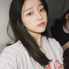 ➷ulzzang ღ girls➶ Ulzzang Girl Selca, Ulzzang Hair, K Fashion, Cute Korean Girl, Asian Girl, Korean Beauty, Asian Beauty, Peinados Pin Up, Asian Makeup
