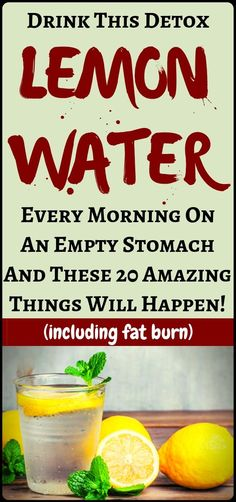20 Reasons You Should Drink Detox Lemon Water In The Morning On Empty Stomach. I… 20 Reasons You Should Drink Detox Lemon Water In The Morning On Empty Stomach. Its good for weight loss Matcha Benefits, Health Benefits, Health Tips, Water Benefits, Health Care, Gut Health, Mental Health, Ayurveda, Full Body Detox