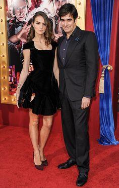 Chloe Gosselin and David Copperfield  #ThierryMugler