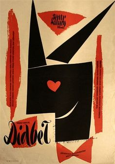 Rene Wanner's Poster Page / Zbigniew Kaja Posters, Retrospective 1955 - 1980 1950s Posters, Vintage Posters, Vintage Graphic, Graphic Art, Polish Posters, Circus Poster, Original Movie Posters, Graphic Design Illustration, Book Illustration
