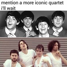 Screw you, Beatles! We got the Grump Squad!