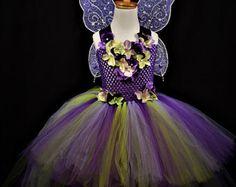 Gold yellow Fairy tutu dressfairy costume light fairy dress