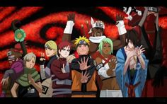 Naruto And Friends Wallpaper Hd Kakashi, Naruto Shippuden Hd, Kurama Naruto, Wallpaper Naruto Shippuden, Shikamaru, Naruto And Sasuke, Gaara, Boruto, Naruto Free