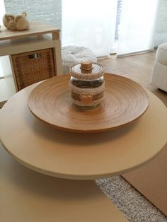 Récup bocal. ... Table, Furniture, Home Decor, Jar, Homemade Home Decor, Mesas, Home Furnishings, Desk, Decoration Home