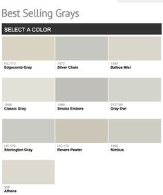 Best Grey Paint 5 best gray paint colors | gray paint colors, gray and house