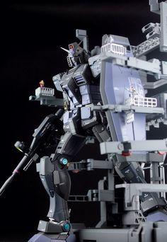 MG 1/100 RX-78-2 Gundam 3.0 G-3 'Last Operation' - Diorama Build Modeled by Kouichi