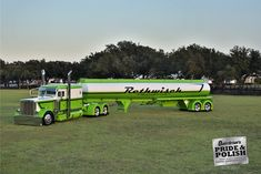 Bill Rethwisch's 2013 Peterbilt 389, tanker