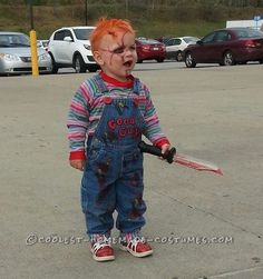 Chucky Toddler Costume – the Beginning, When He Was Two Years Old... Coolest Halloween Costume Contest