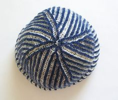Two-Color Brioche Hat