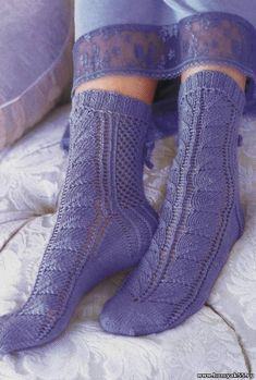 You're going to love Lace Socks Vogue Knitting. Purple Love, Purple Stuff, Periwinkle Blue, All Things Purple, Shades Of Purple, Vogue Knitting, Knitting Socks, Knit Socks, Knitted Slippers