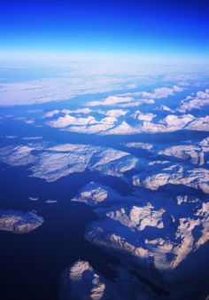 Greenland, from 35000ft
