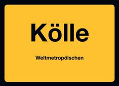 Postkarte: Kölle Weltmetropölschen